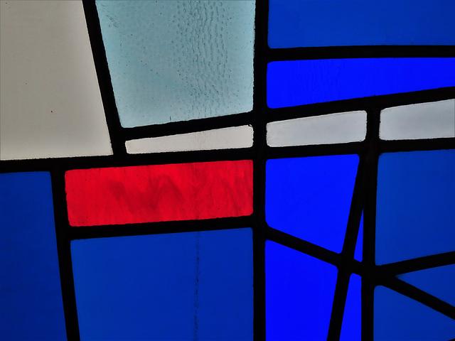 Milan Mrkusich: Seafarers' Windows, detail 1