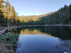 Withers Lake, with reflections