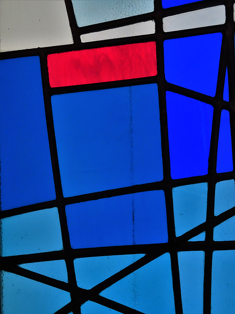Milan Mrkusich: Seafarers' Windows, detail 2
