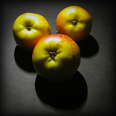 three apples a day...