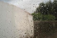 Rainy moment in Penedos