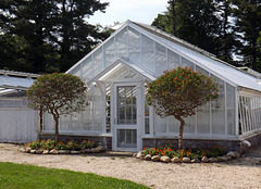 One of the Greenhouses at Planting Fields, May 2012