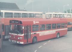 Ribble Leyland National at Rochdale - May 1984