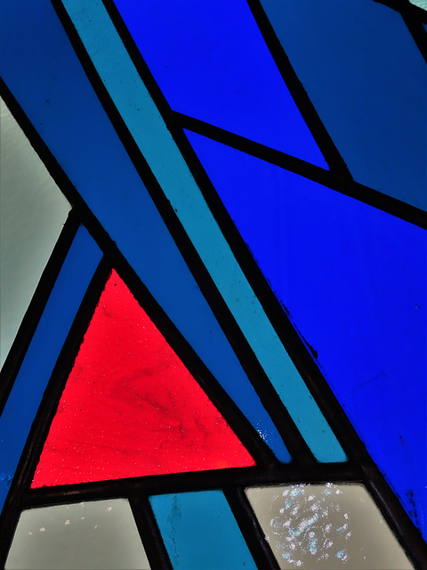 Milan Mrkusich: Seafarers' Windows, detail 3