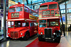 London 2018 – Transport Museum – 1963 Routemaster & 1954 RT-type AEC doubledecker