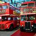 London 2018 – Transport Museum – 1963 Routemaster & 1954 RT-type AEC doubledecker
