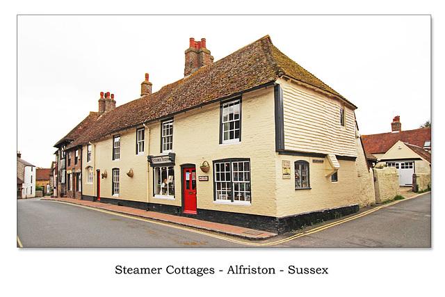 Alfriston - Steamer Cottages  - 12.5.2015