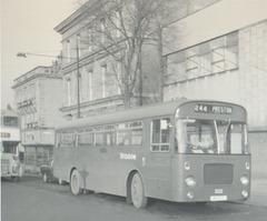 Ribble 302 (LRN 302J) at Rochdale - Nov 1971