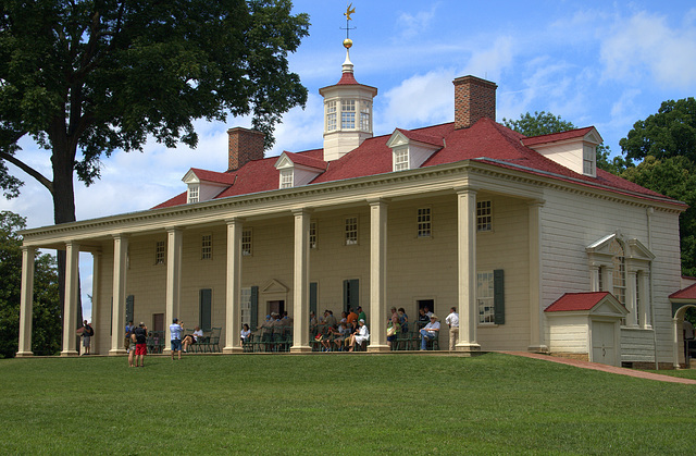 Washington's Home at Mount Vernon