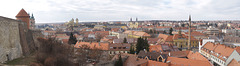 Eger Panorama from Castle Walls