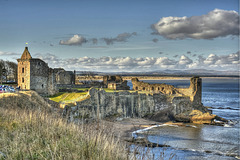 St. Andrews Castle, Fife, Scotland