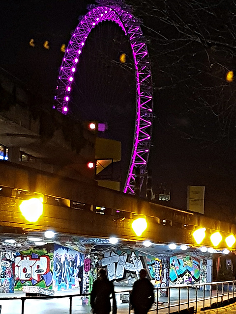 London Eye observed
