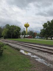 Water tower of Millington, Michigan.