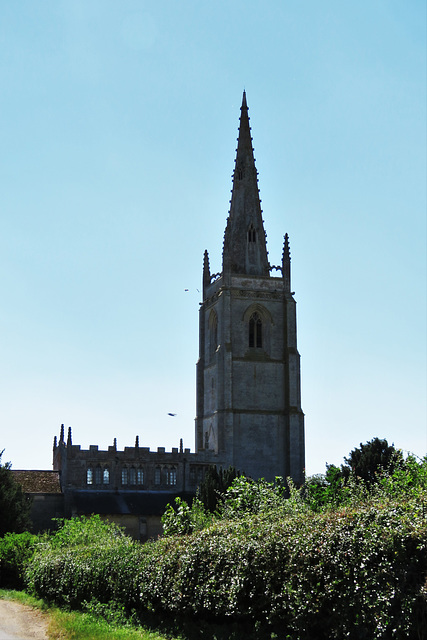 asgarby church, lincs.