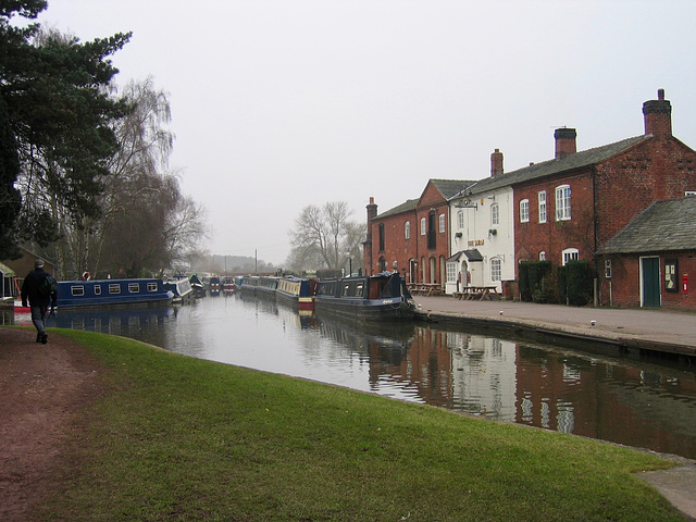 Fradley Junction on the Trent and Mersey Canal