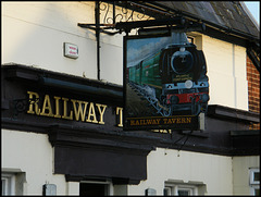 Railway Tavern sign