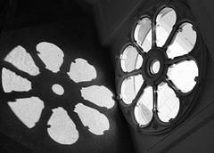 Fenster mit Schatten
