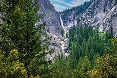 Yosemite - Illilouette Fall - 1986