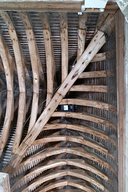 Cloister roof-beams, Chichester Cathedral
