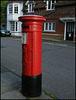 North Walk pillar box