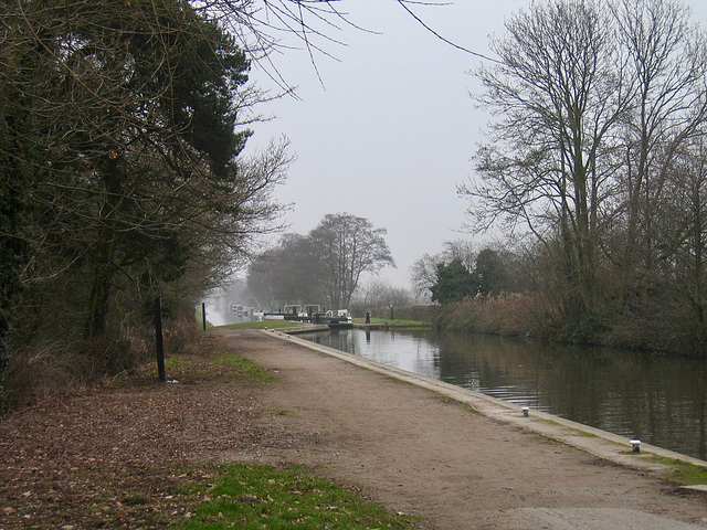 Trent and Mersey Canal near Fradley Junction