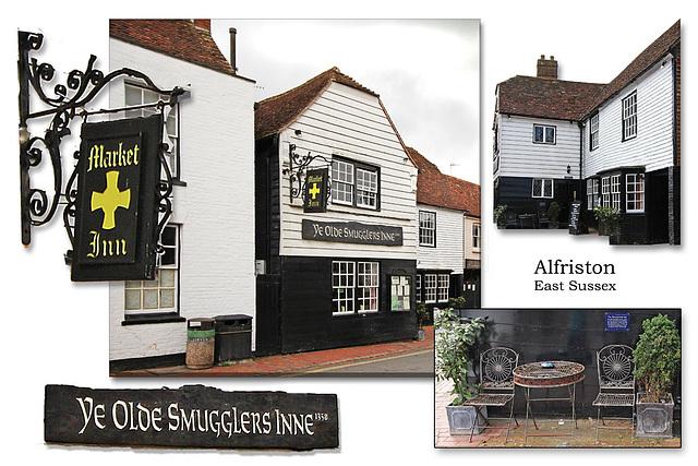 Smugglers Inne or The Market Inn? - Alfriston - 12.5.2015