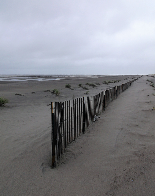 Clôture de plage