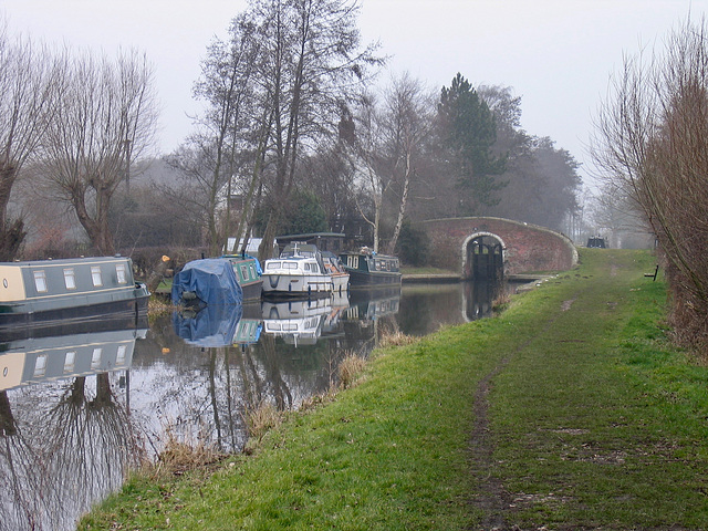 Bridge 53 on the Trent and Mersey Canal.