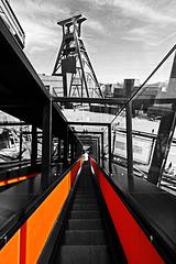 Zollverein: Rolltreppe
