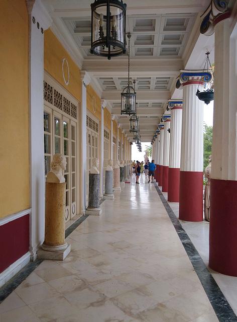 The Philosophers' Gallery, Achilleion Palace, Corfu