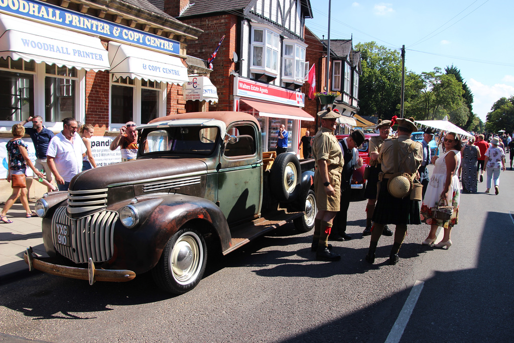 1941 Chevrolet Pick up    ~ Woodhall Spa 1940's weekend ~ 2018