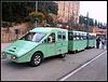 Montserrat (Barcelona): trenecillo turístico.