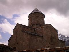 Holy Trinity Church of Gergeti.