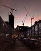 Sunset over the Edgware Road