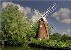 Hunsett Mill, Norfolk.