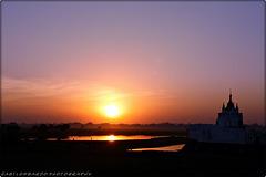 sunset at Amarapura (Myanmar)