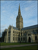 Salisbury Cathedral north face