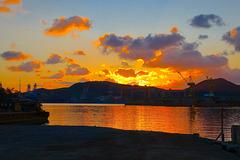 Sunrise over Okpo