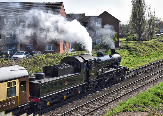 Great Central Railway Loughborough Leicestershire 8th April 2017