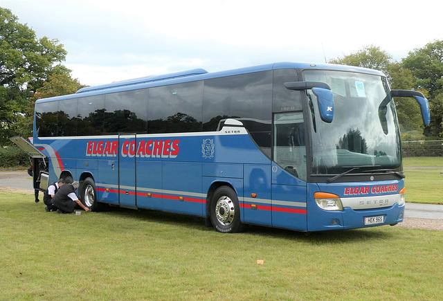 Elgar Coaches HEK 965 (BF10 VCC) at Showbus - 29 Sep 2019 (P1040550)