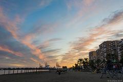 Malagueta am Abend (© Buelipix)