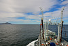 RFA GOLD ROVER rounding Cape Horn in perfect weather conditions