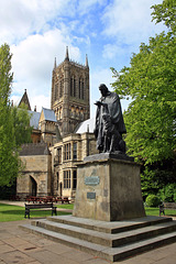 Tennyson Memorial and Lincoln Cathedral