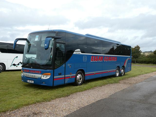 Elgar Coaches HEK 965 (BF10 VCC) at Showbus - 29 Sep 2019 (P1040551)