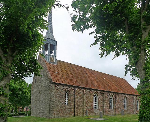 Nederland - Niehove en kerk