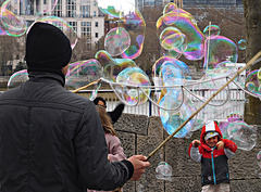Creating bubbles