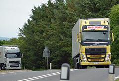 Volvo FH on A75 near Gatehouse-Of-Fleet