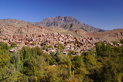 Abyaneh - Mountain village in Iran