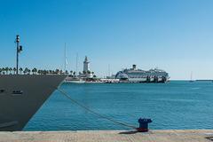 Hafenpromenade Malaga (© Buelipix)