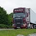 Scania R520 on A75 near Gatehouse-Of-Fleet